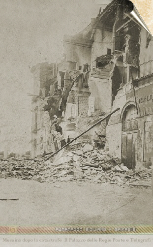 Messina il terremoto del 1908 - Telegraph Office