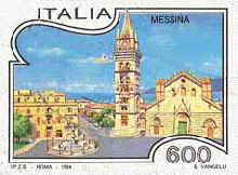 Turismo - Messina- 600 Lire